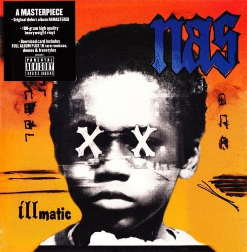 Nas<br>Illmatic XX<br>LP, RE, RM, 180g